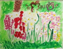 小学1年生「花ばたけ」